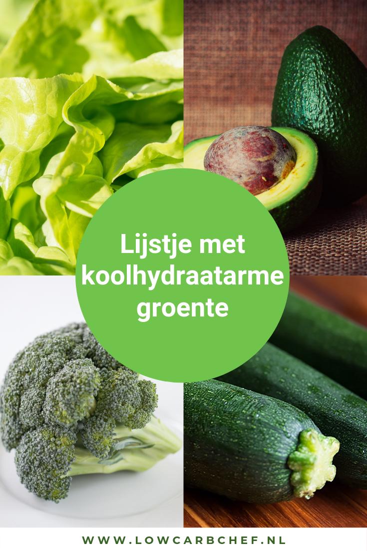 Groente is een belangrijk onderdeel van ons dieet. Ook als je het koolhydraatarm dieet volgt is het belangrijk om groente te blijven eten. Hier een lijstje met alle koolhydraatarme groentesoorten #groente #koolhydraatarm #gezond #gezondeten #avocado #broccoli