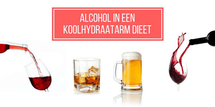 Alcohol drinken en het koolhydraatarm dieet