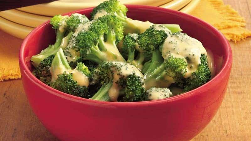 Broccoli met kaassaus
