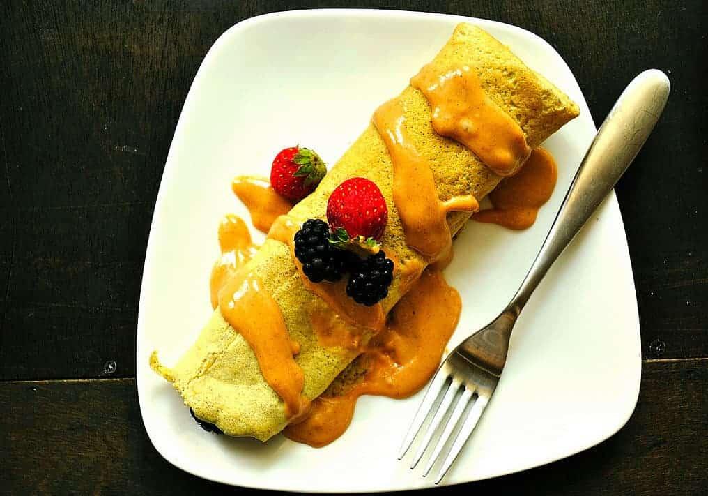 Glutenvrije eiwit pannenkoeken