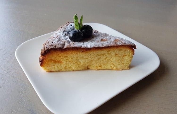 Koolhydraatarme Japanse cheesecake