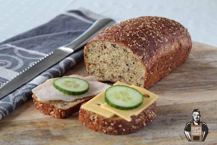 Quint's koolhydraatarm brood wit meerzaden