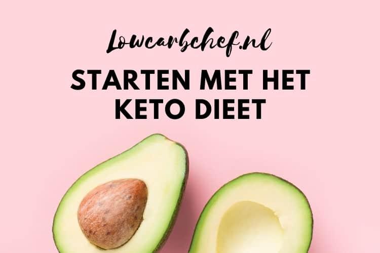 Starten met het keto dieet