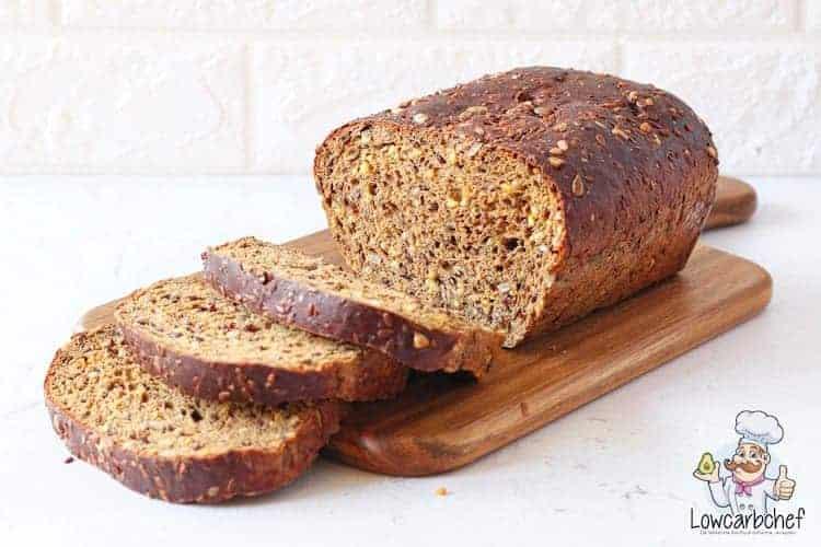 Keto brood met zaden en pitten